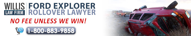 Ford Explorer Rollover Lawyer