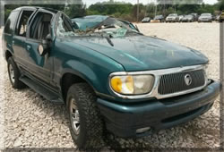 Mercury Mountaineer Rollover Roof Crush